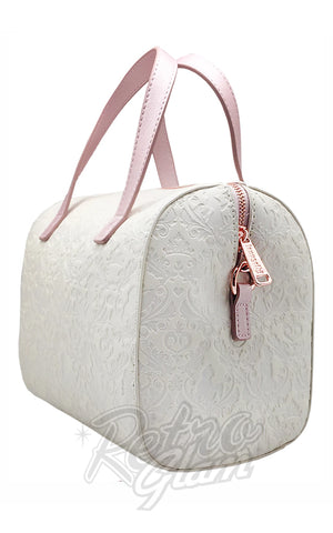 Loungefly Disney Princess Damask Debossed Duffle Bag side