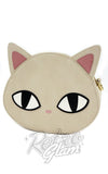 Loungefly Cat Eyes Crossbody Bag front