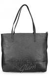 Loungefly Embossed Bandana Skull Tote With Tassels back