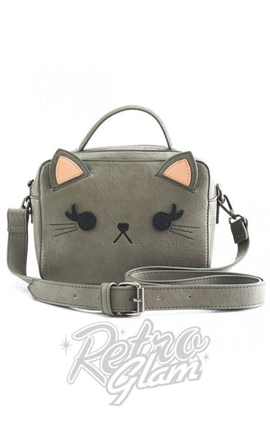 Loungefly Grey Cat Crossbody Bag