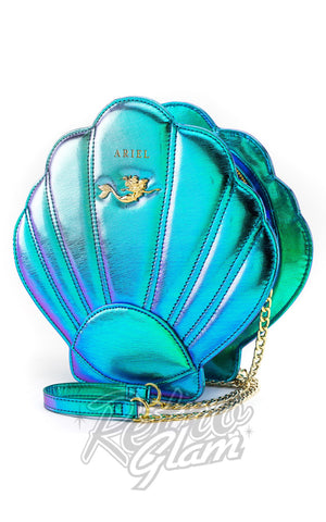 Loungefly Ariel Shell Crossbody Bag front