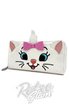 Loungefly Disney Marie Big Face Wallet front