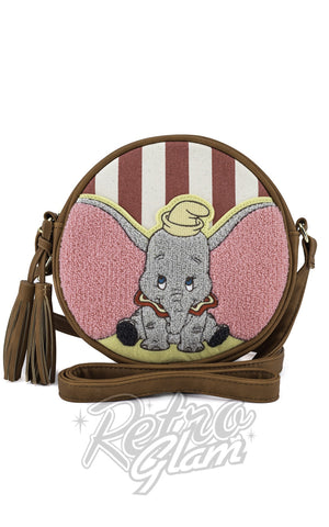 Loungefly Dumbo Striped Crossbody Bag