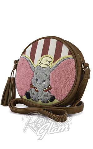 Loungefly Dumbo Striped Crossbody Bag front