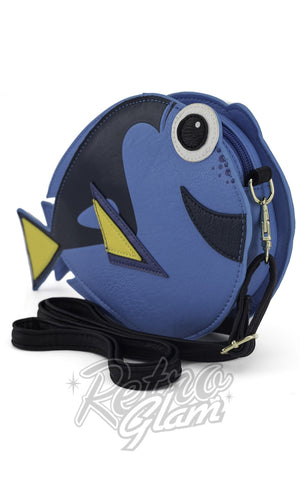 Loungefly Finding Nemo Dory Crossbody Bag front