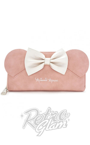 Loungefly Minnie Ears & Bow Pink Wallet