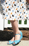 B.A.I.T Danita Shoes in Cornflower Blue