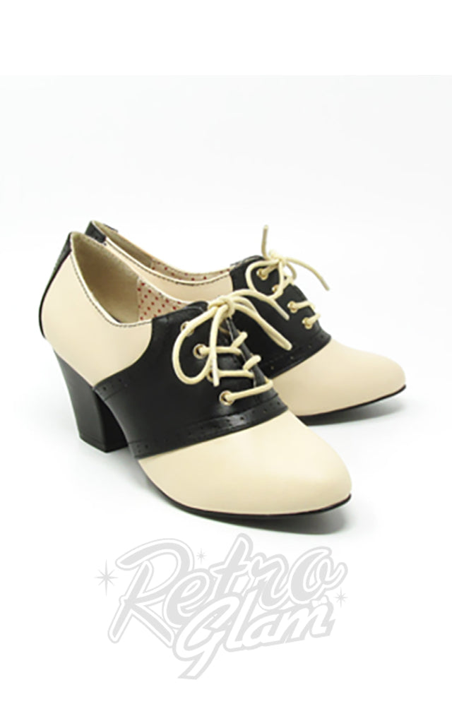 B.A.I.T Heather Shoes in Black & Cream