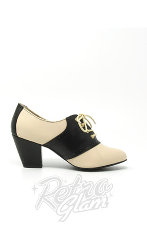 B.A.I.T Heather Shoes in Black & White side