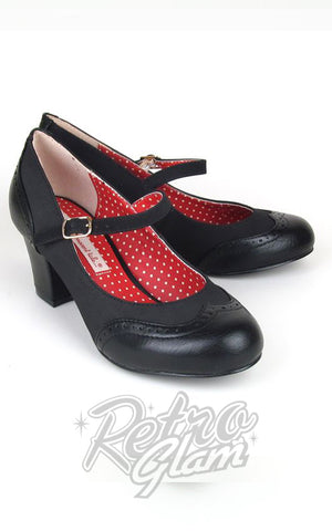 B.A.I.T Regina Shoes in Black