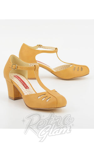 B.A.I.T Robbie Shoes in Matte Mustard