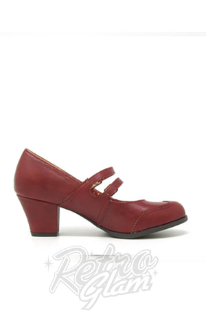 B.A.I.T Rowena Shoes in Red side