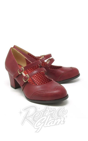 B.A.I.T Rowena Shoes in Red