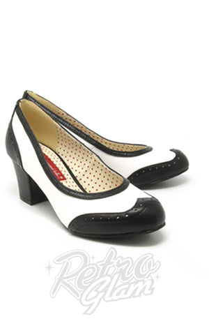 B.A.I.T Rolanda Shoes in Black and White
