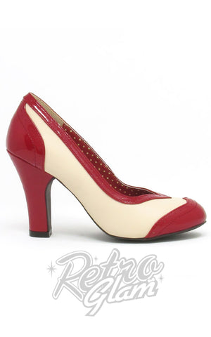 B.A.I.T Valentine Heels in Red Side