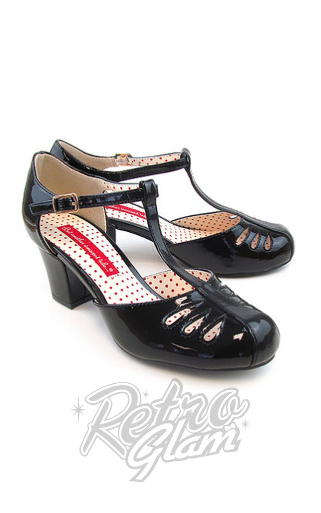 B.A.I.T Robbie Shoes in Black Patent