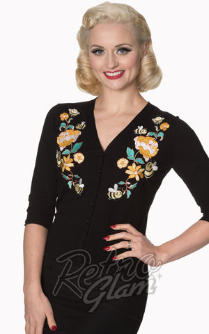 Banned Flickers Cardigan in Black