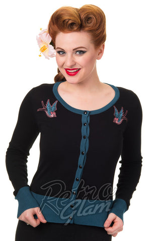 Banned Twisted Birds Cardigan