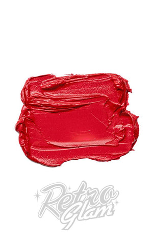 Besame Red Lipstick swatch