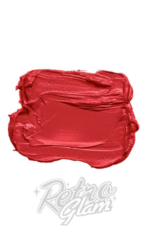Besame Poppins Red Lipstick swatch