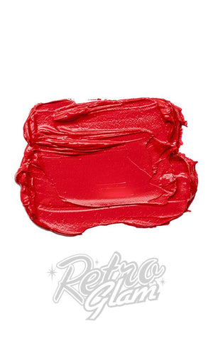 Besame Red Hot Red Lipstick swatch