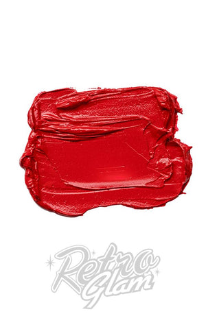 Besame Victory Red Lipstick swatch