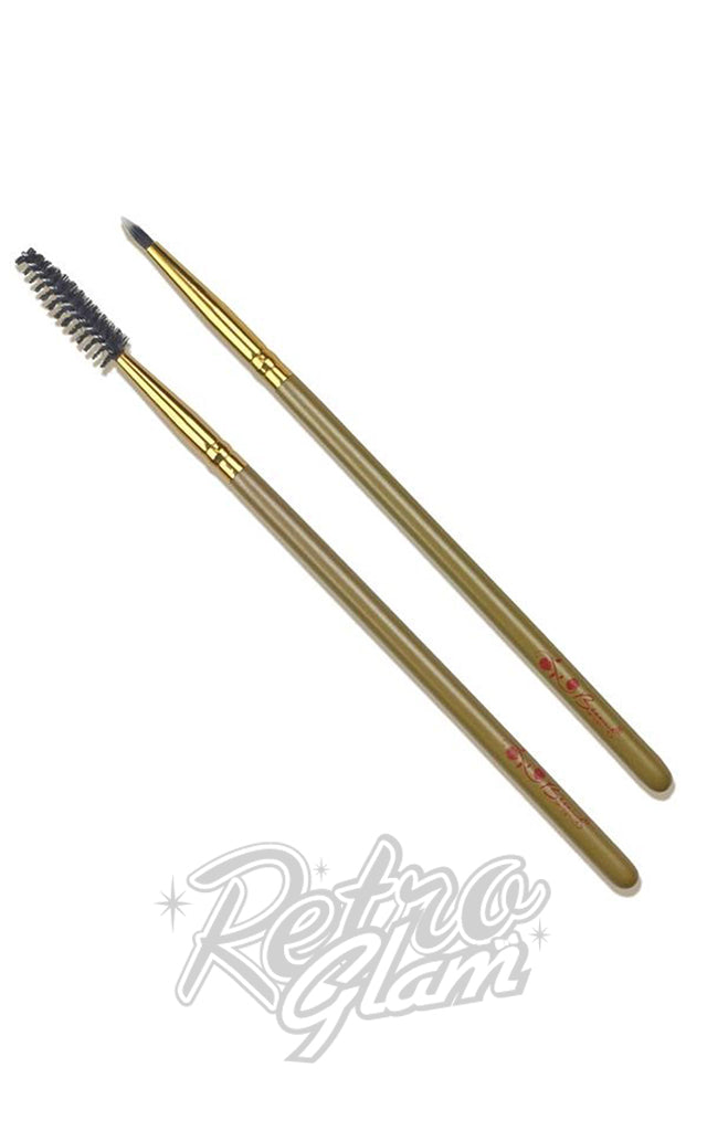 Besame Mascara & Liner Brush Set