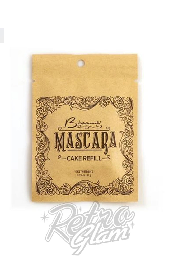 Besame Cake Mascara Refill in Black or Brown