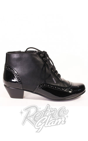 Chelsea Crew Pearla Booties in Black