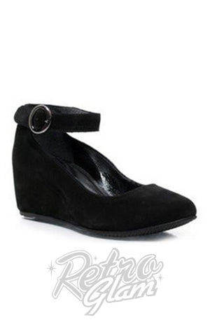 Chelsea Crew Romina Suede Shoes in Black