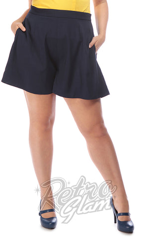 Collectif Drew Shorts in Navy