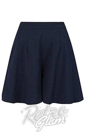 Collectif Drew Shorts in Navy detail