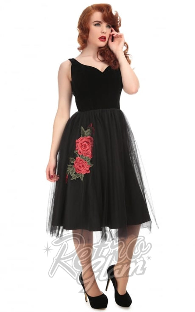 Collectif Isla Rose Swing Dress
