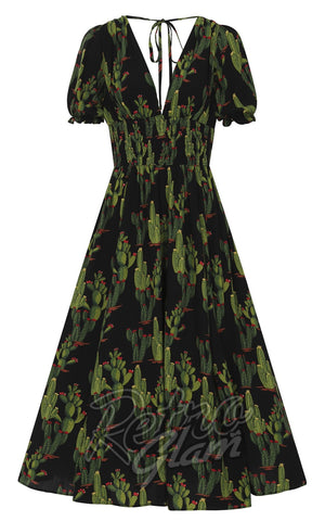 Collectif Juilette Cactusland Maxi Dress