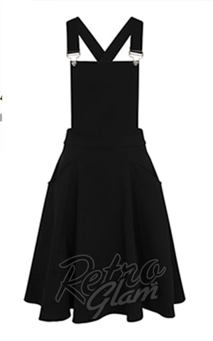 Collectif Kayden Overalls Swing Dress detail