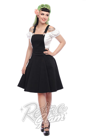 Collectif Kayden Overalls Swing Dress