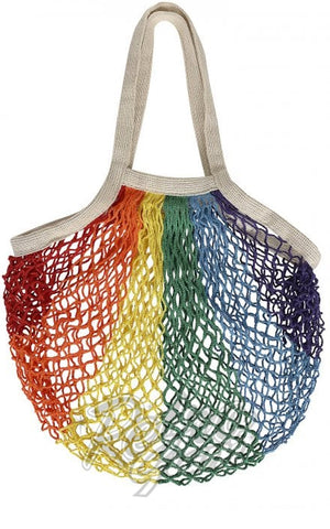 Collectif Rainbow Netted Shoppers Bag