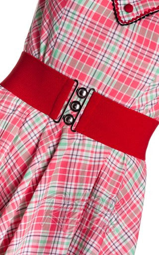 Hell Bunny Retro Belt in Red