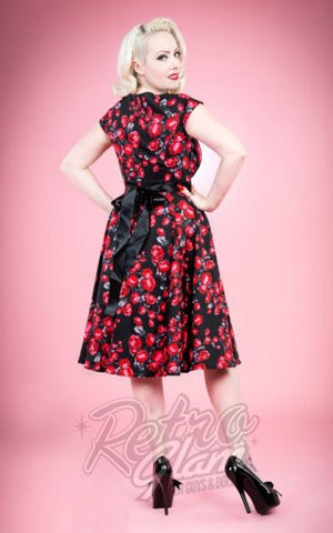 Hearts and Roses Rosa Cocktail Dress