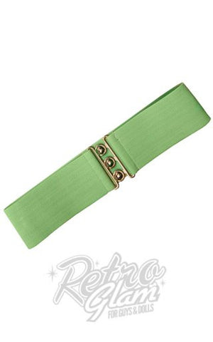 Hell Bunny Retro Belt in Mint