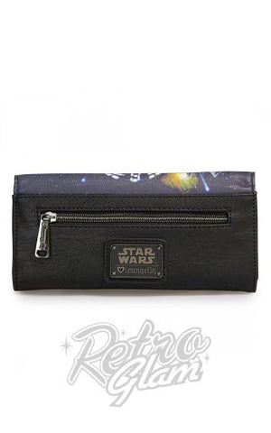 Loungefly Star Wars Space Scene Wallet