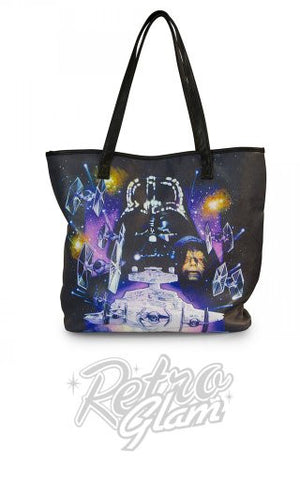 Loungefly Star Wars Space Scene Tote