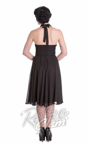 HellBunny Monroe Dress in Black