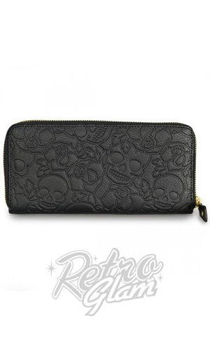 Loungefly Black Rose Wallet