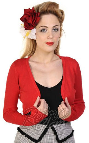 Banned Flickers Bolero in Red