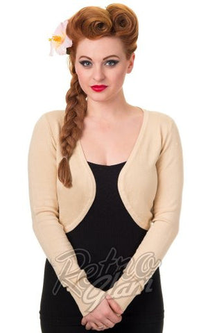 Banned Flickers Bolero in Cream