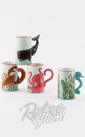 Ceramic Lobster Mug