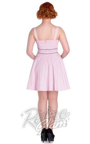 Hell Bunny Vanity Mini Dress in Pink