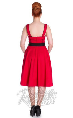 Hell Bunny Martie Dress in Red