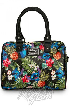 Loungefly Disney Stitch Hawaiian Pebble Duffle